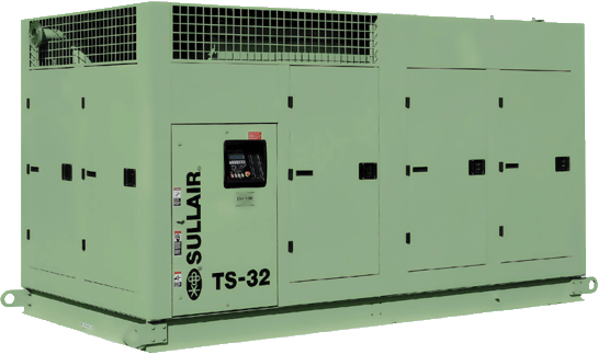 Sullair TS32 rotary screw air compressor